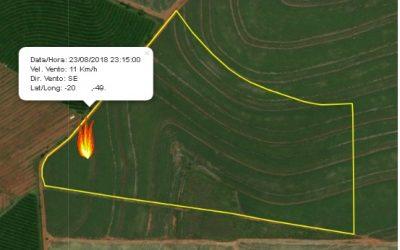 Monitoramento de incêndios em canaviais por satélite e radares evita prejuízos financeiros e ambientais
